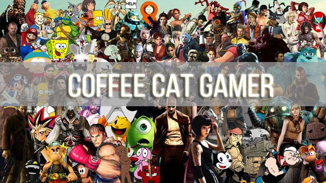 Coffee Cat Gamer